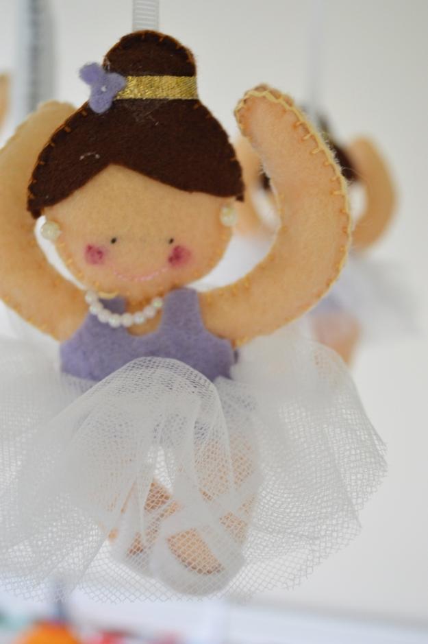 Bailarina cuarto bebe