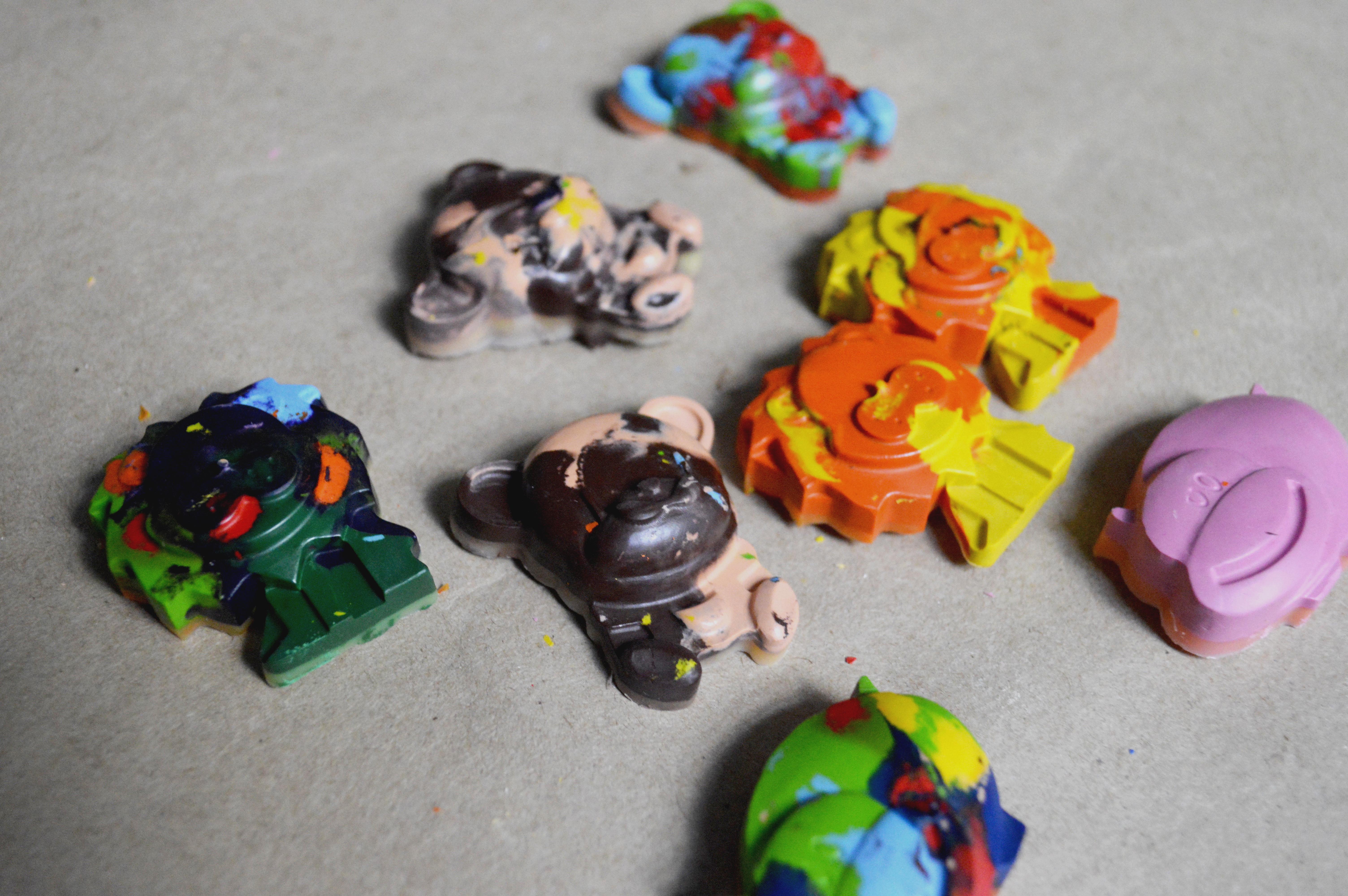 DIY: Crayones de animales o figuras
