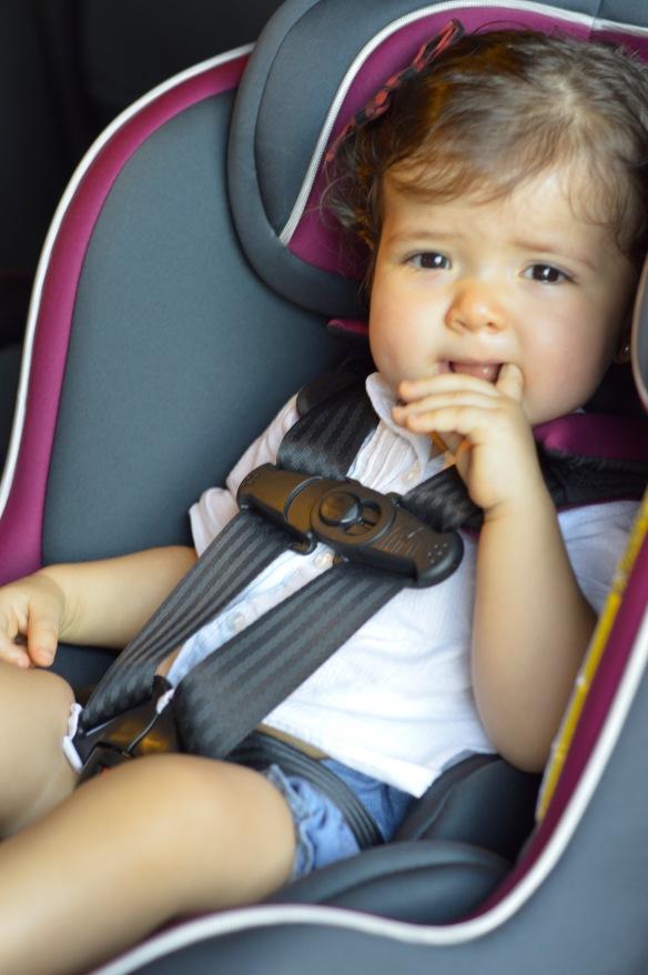 Como usar silla del carro