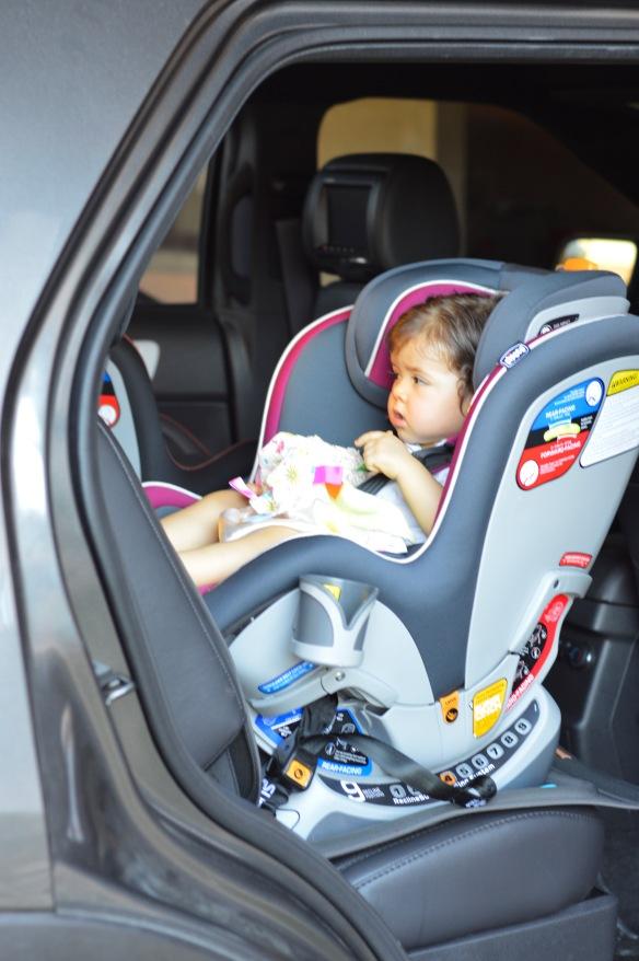 Uso correcto silla del carro
